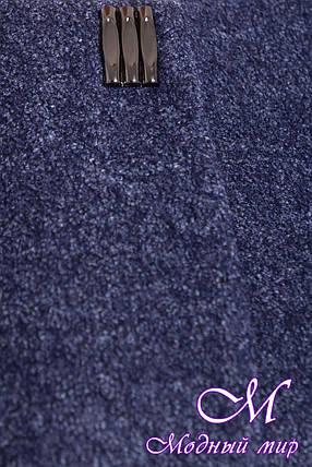 Демисезонное шерстяное пальто больших размеров (р. XL, XXL, XXXL) арт. Фортуна 3377 - 17329, фото 2