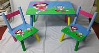 Стол+2 стула W02-887(Н921) Дора кор./5/