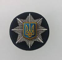 Кокарда национальной полиции Украина 3Д