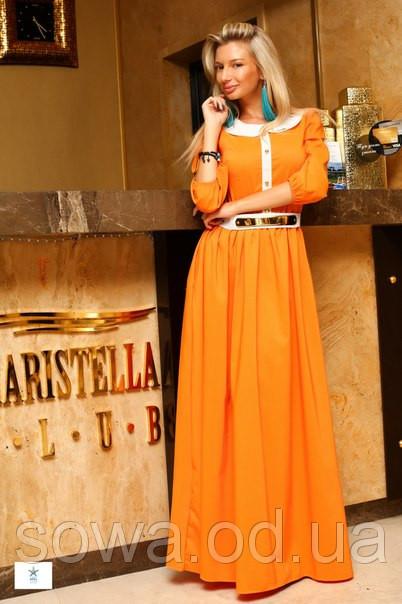 Вечернее Платье Палацио оранж