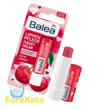 Помада гигиеническая Balea Cherry Dream (5 гр) Германия