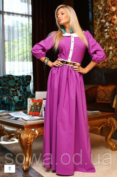 Вечернее Женское Платье Палацио фиолетовое
