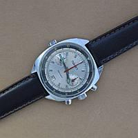 Наручный хронограф Полет 3133 дата мех часы