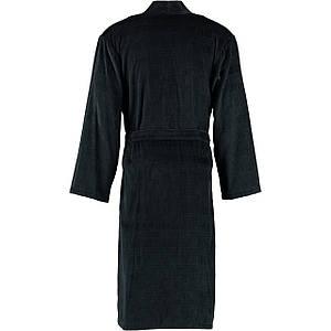 Халат мужской Cawo Herren Velours Черно-коричневый, XL