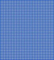 Подарочная бумага (упаковочная) белого цвета в мелкую синюю клеточку