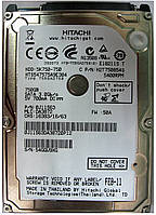 HDD 750GB 5400 SATA2 2.5 Hitachi HTS547575A9E384 54GGU9XG, фото 1