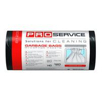PRO Пакет для сміття п/е 70*110 чорний LD 120л/20шт. (15шт/ящ)