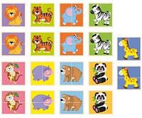 Пазл Viga Toys Дикие животные (50842)