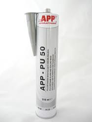 Поліуретановий герметик для швів APP PU 50 сірий 310мл