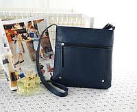 Небольшая женская сумочка синего цвета, фото 1