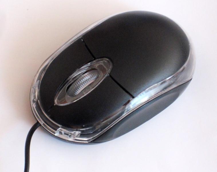Мышь компьютерная MOUSE SN01, black
