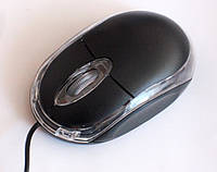 Мышь компьютерная MOUSE SN01, black, фото 1