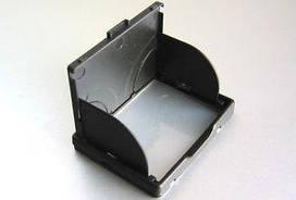 """Защита экрана 3"""" LCD камеры с козырьком и шторками - черный"""
