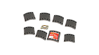 Накладки BPW, FRUEHAUF, KASSBOHRER, SAF  (422x200mm) (1рем.)