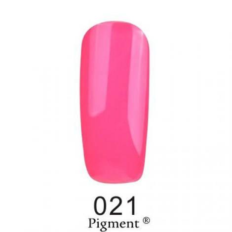 Гель лак Fox Pigment 021 Кислотный кукольно-розовый