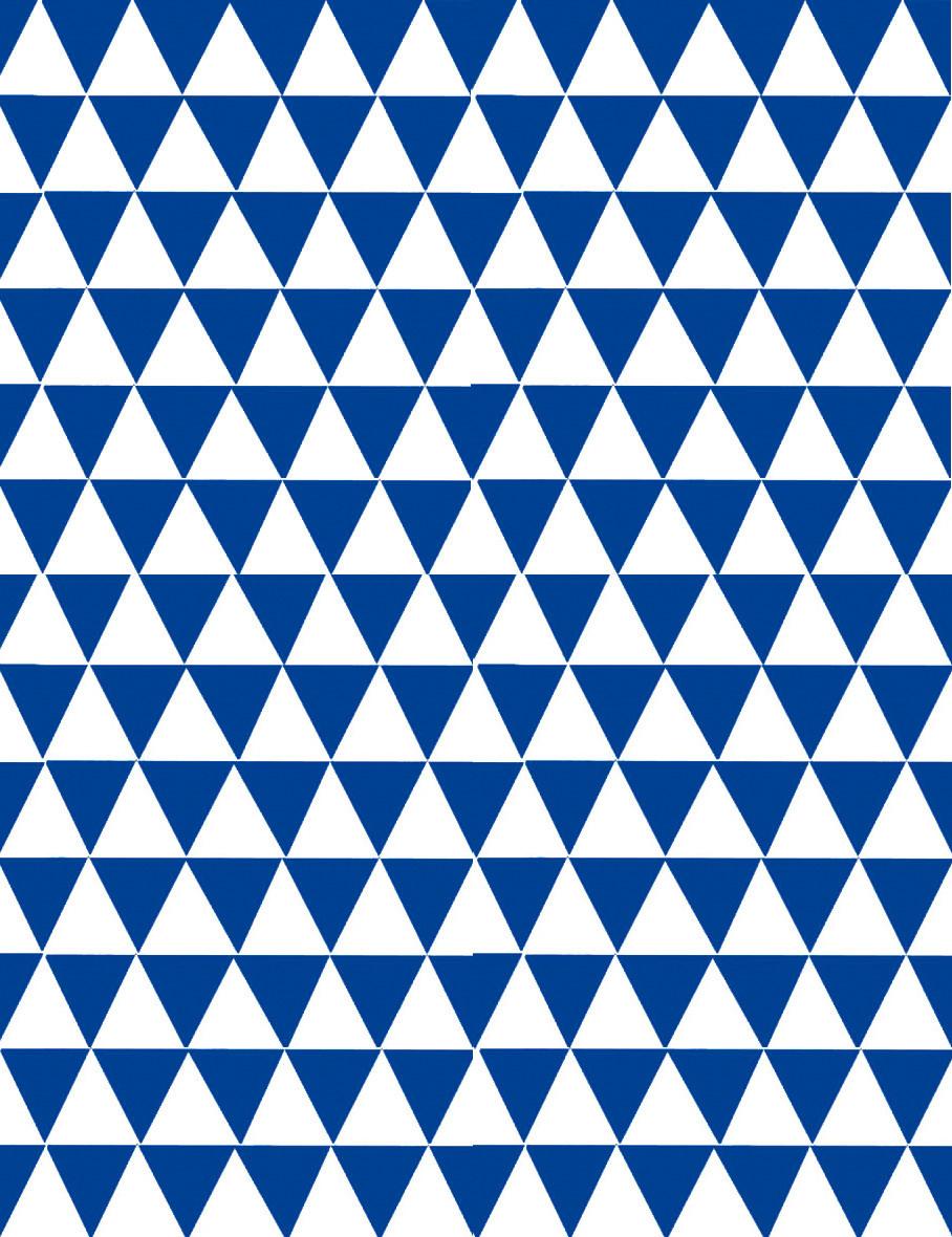 """Подарочная бумага (упаковочная) белого цвета с синими треугольниками - Интернет-магазин """"Box"""" в Ровненской области"""