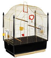 Золотая клетка для птиц VILLA GOLD.50*31*65 см+купалка.