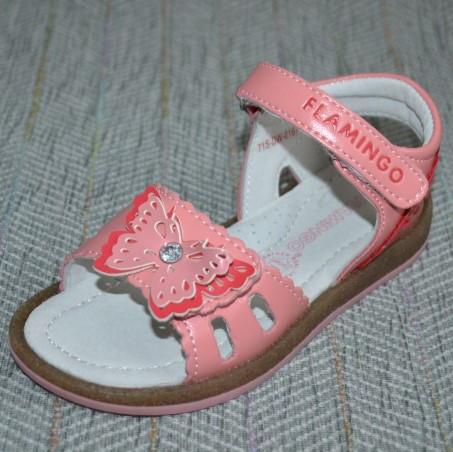 Розовые босоножки, Flamingo размер 26 28 30 32