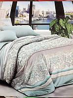 Евро набор постельного белья Ранфорс 148
