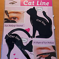 Трафареты для стрелок 10 форм Кошка