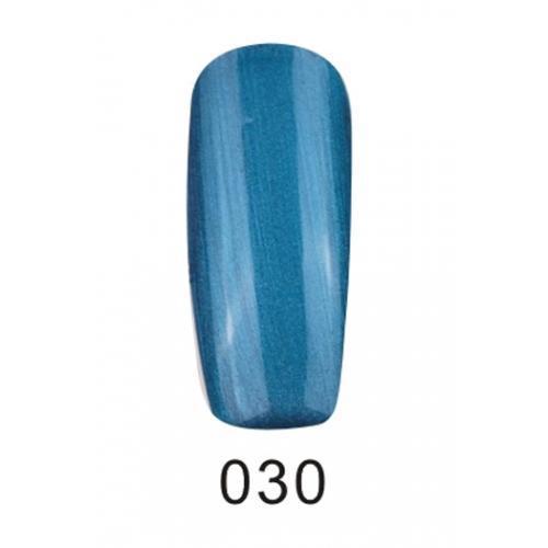Гель лак Fox Pigment 030 Синий перламутровый