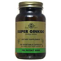 Гинкго Билоба  супер, Solgar, 120 капсул