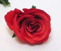 Головка розы прованс алая 5 см