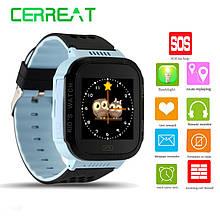Детские умные часы Smart Watch Q528 (Y21) с GPS, камерой, фонариком и игрой