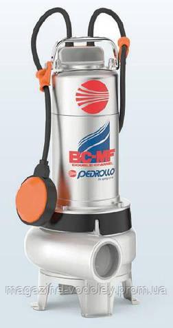 Фекальный насос Pedrollo BCm 15/50 MF корпус AISI 316