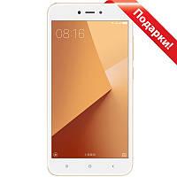"☎Смартфон 5.5"" Xiaomi Redmi Note 5А, 2GB+16GB Золотистый Snapdragon 425 камера 13+5 Мп Android 7.1"