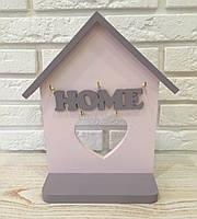 """Ключница настенная деревянная """"Home""""rd11. Подарки в стиле прованс"""
