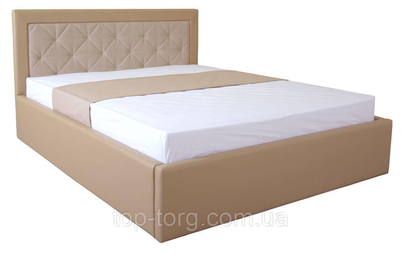 Кровать IRMA lift 1600x2000 beige, беж