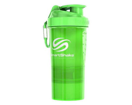 SmartShake Original2Go 600 ml neon green, фото 2