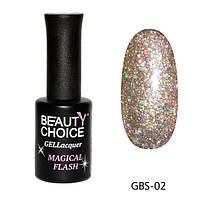 Гель - лак Beauty Choice  «Diamond» GBS - 02 , 10 мл