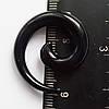 """Расширитель для пирсинга ушей """"спираль"""" черная 6мм.(цена за 1шт)"""