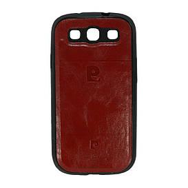 Чехол накладка для Samsung Galaxy S3 i9300 силиконовый, Pierre Cardin, красный