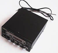 Усилитель (ресивер) UKC SN-805U + Karaoke,  MP3/SD/USB/AUX/FM 12v / 220v