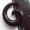 Расширитель 10 мм под тоннели. Спираль акриловая. Для пирсинга ушей.(цена за 1шт)