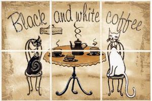 Декор из 6 составляющих CERSANIT SAGRA BEIGE COFFE Арт. 134089