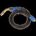 Горелка МВ24 (3м ) для полуавтомата (Евророзъем), фото 3