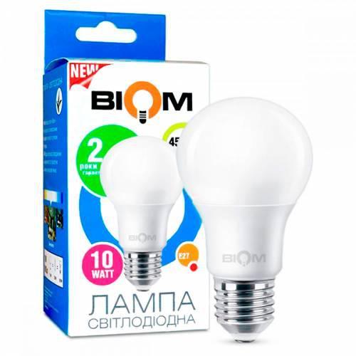 Светодиодная лампа Led Biom BT-510 A60 10W E27 4500K