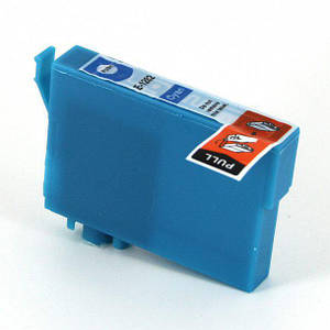 Совместимый картридж Inkdigo™ EPSON T1282 Cyan чернильный, голубой, 16ml для SX125/SX420W/SX425W/S22