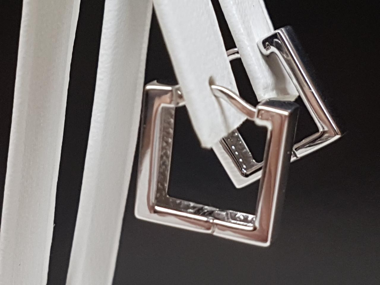 Срібні сережки. Артикул 902-01078