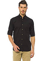 Черная мужская рубашка LC Waikiki / ЛС Вайкики
