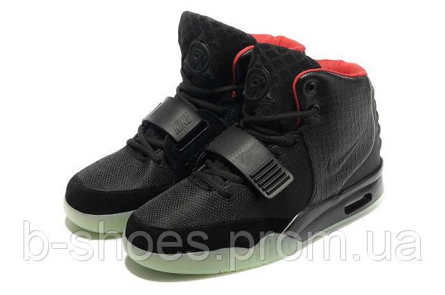 Мужские кроссовки Nike Air Yeezy 2 (Black)