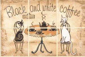 Декор из 6 составляющих CERSANIT SAGRA GIALLO COFFE Арт. 134095