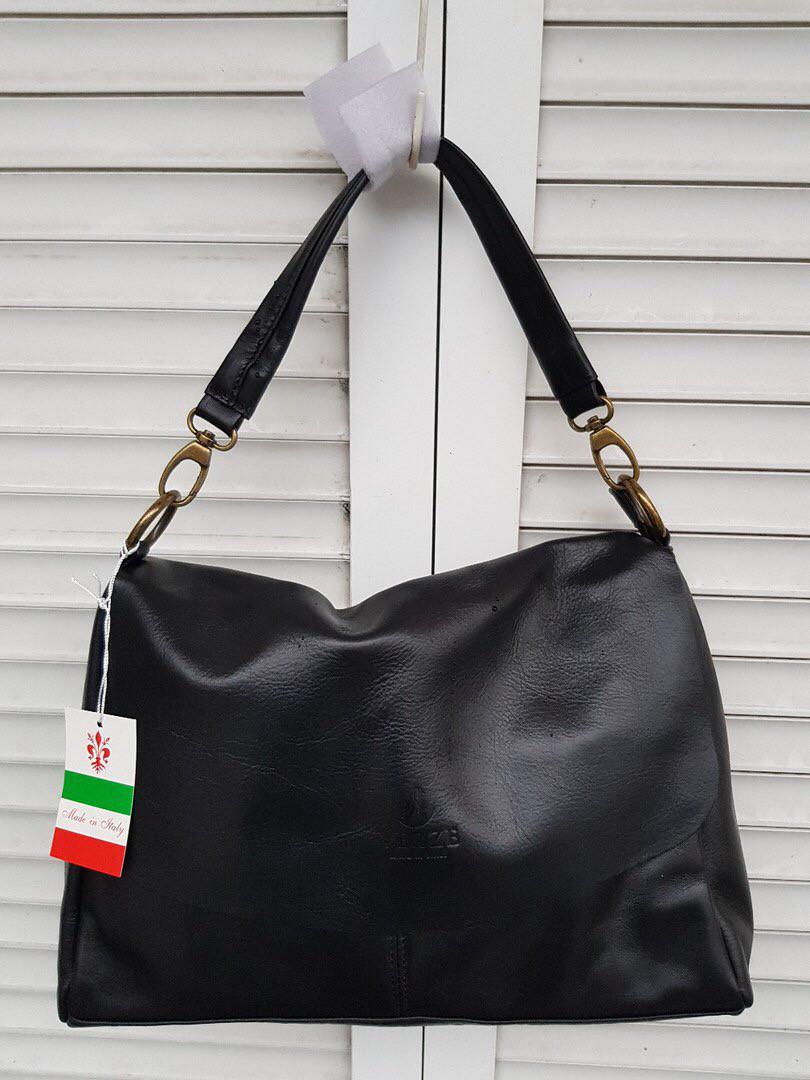 13823d83df2c Женская черная кожаная сумка: продажа, цена в Харькове. женские ...