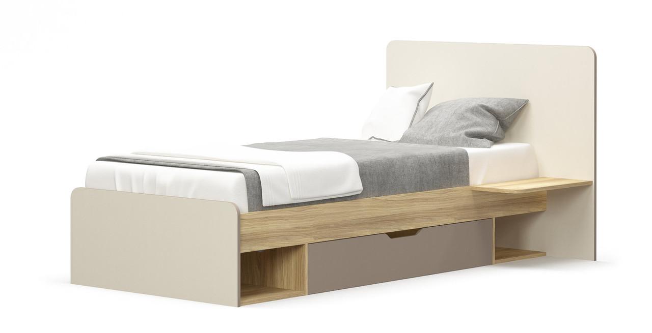 Ліжко дитяче з ДСП/МДФ 90 Ламі Мебель Сервіс