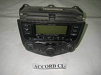 Магнитофон на 6 CD Accord CL 03-09 (Хонда  Аккорд ЦЛ)