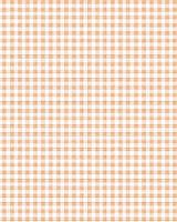 Подарочная бумага (упаковочная) белого цвета в мелкую персиковую (бежевую) клетку